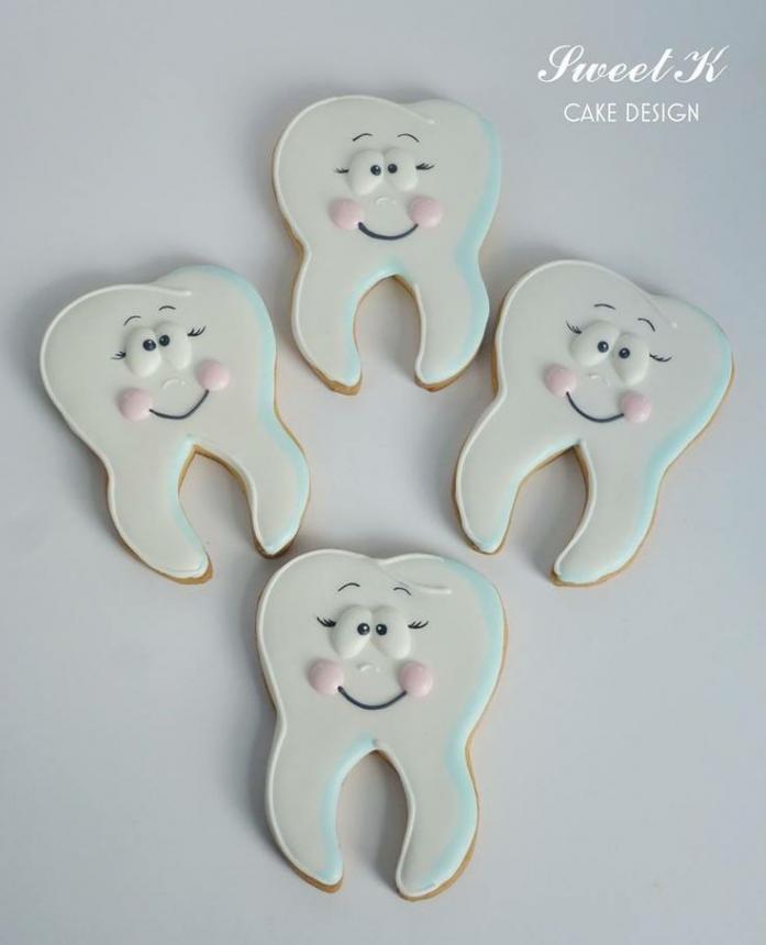 Печенье для стоматолога 41