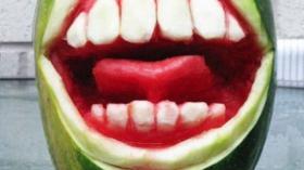 Арбузная полость рта 6