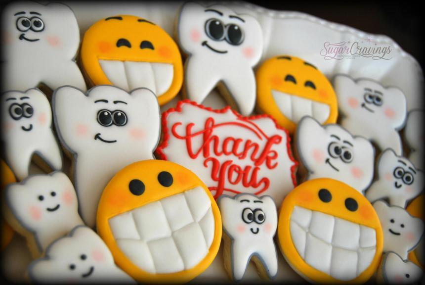 Печенье для стоматолога 34
