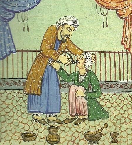 Персия 18 век - удаление зуба