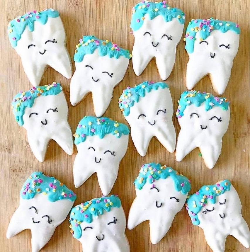 Печенье для стоматолога 57