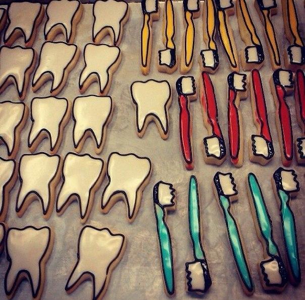 Печенье для стоматолога 6