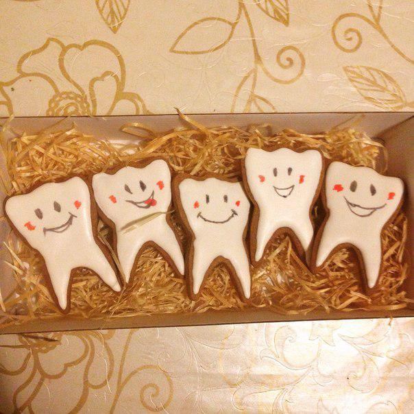 Печенье для стоматолога 24