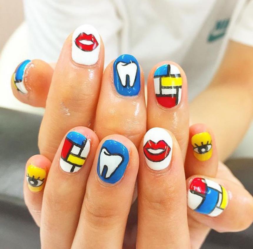 Маникюр стоматолога 4