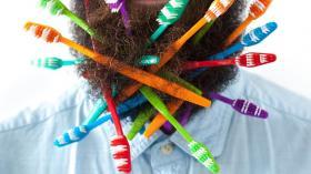 Борода и зубные щетки