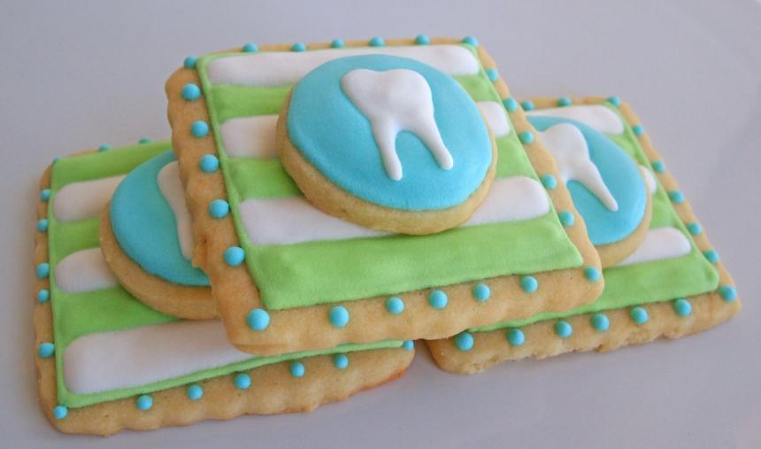 Печенье для стоматолога