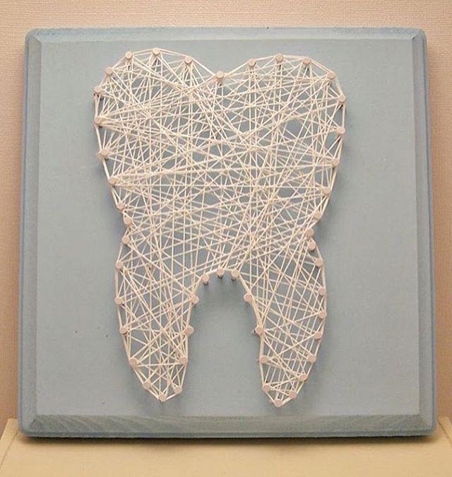 Стринг Арт - зуб