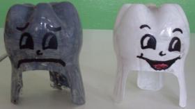 Пластиковые зубы
