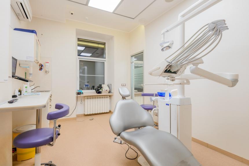Один из кабинетов ортопедов