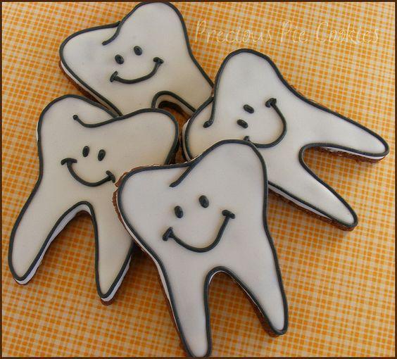 Печенье для стоматолога 28