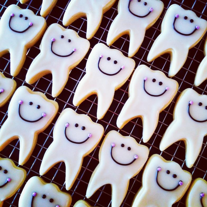 Печенье для стоматолога 39