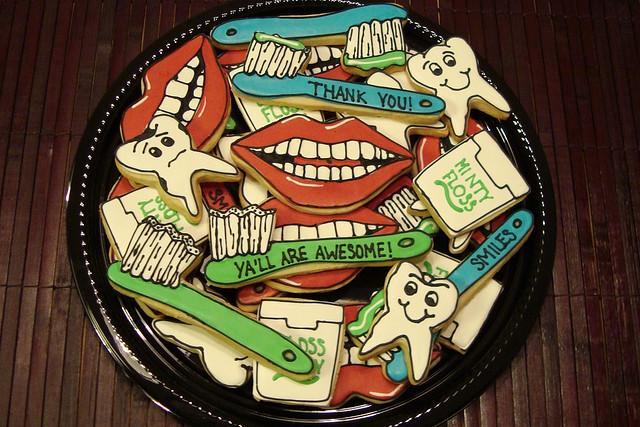 Печенье для стоматолога 14