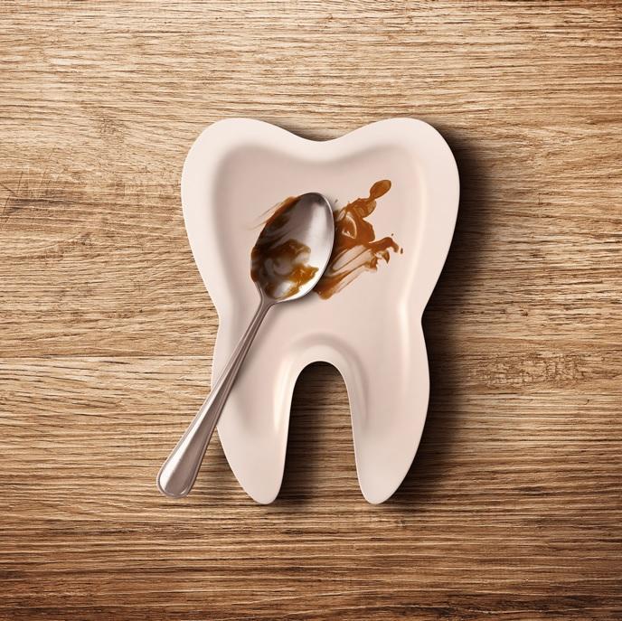 Тарелка стоматолога