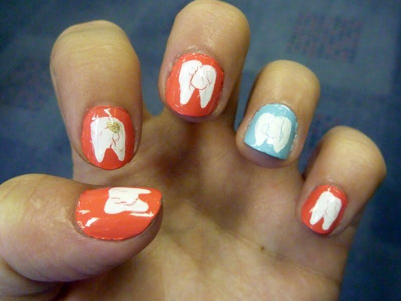 Маникюр стоматолога 8