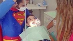 Супермен - стоматолог
