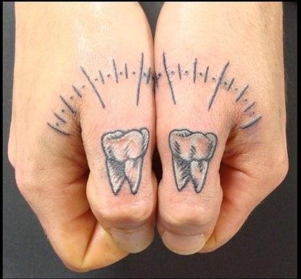 Тату стоматолога 41