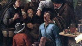Сер. XVII в., Голландия. Я. Стеен «Зубной лекарь»