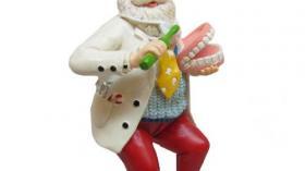 Елочная игрушка для стоматолога 15
