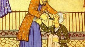 Конец XVIII в. Страница из рукописной книги
