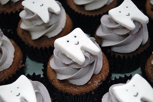 Кексы для стоматолога