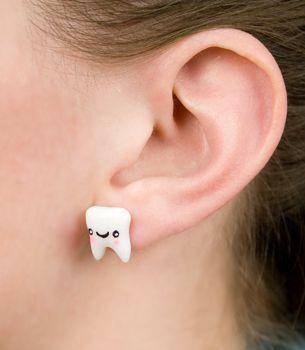 Серьги стоматолога 5