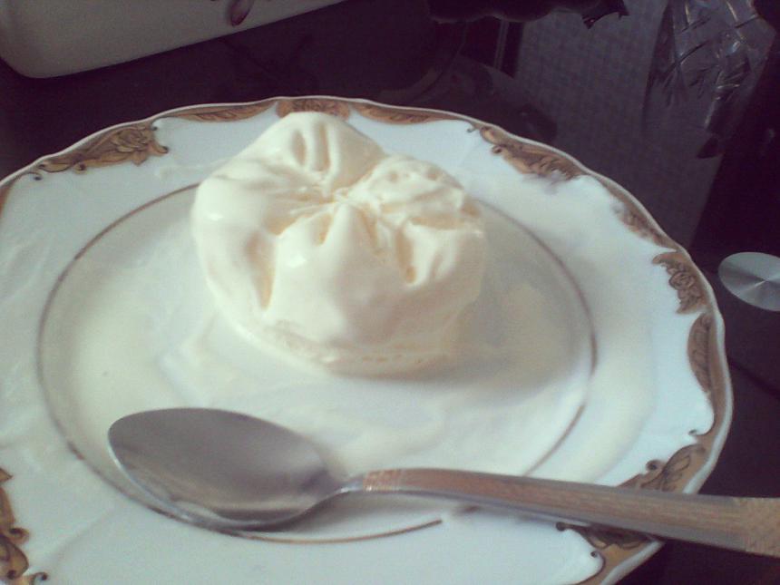 Зуб из мороженого