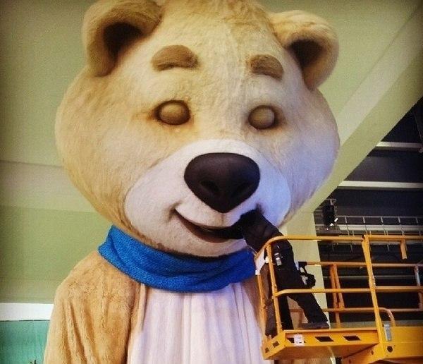Олимпийскому Сочинскому мишке тоже нужен стоматолог