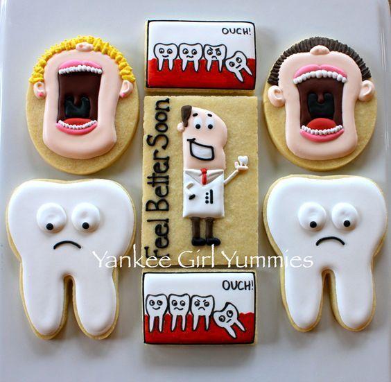 Печенье для стоматолога 56