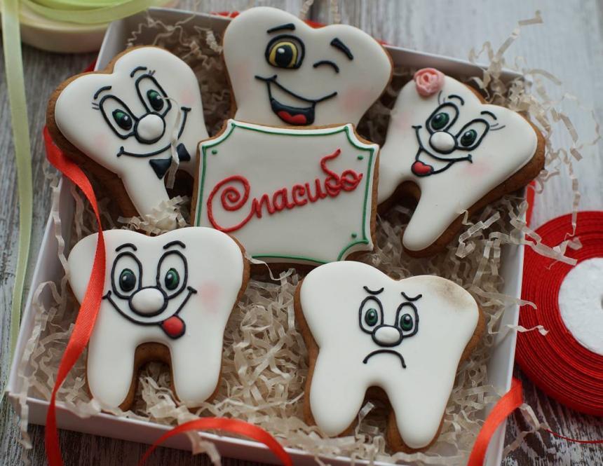 Печенье для стоматолога 40