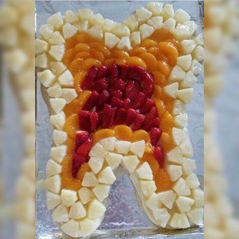 Фруктовый зуб