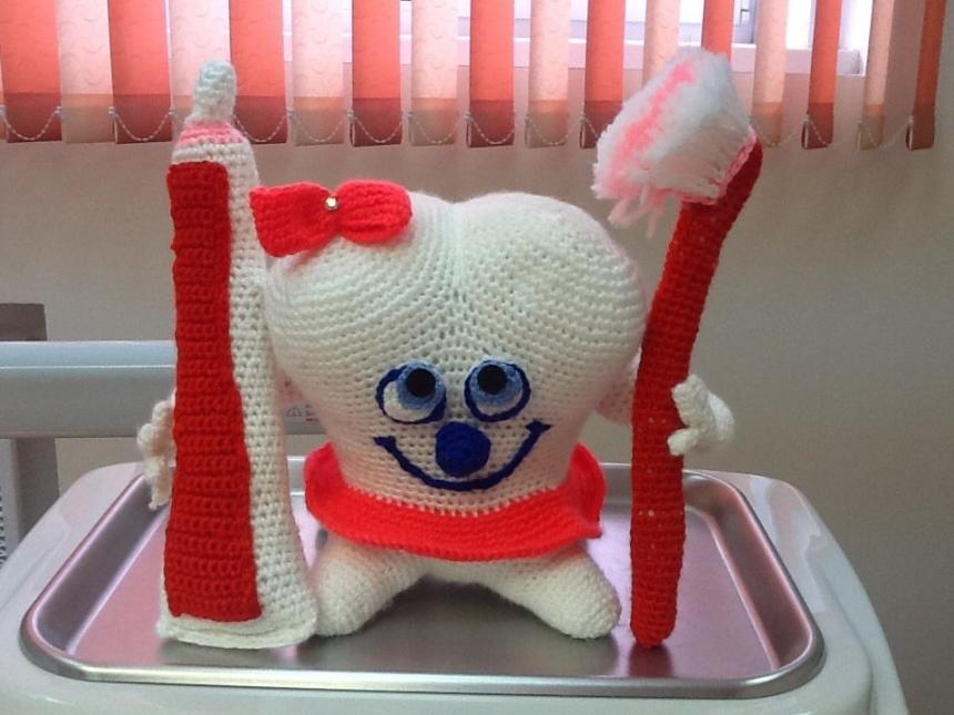 Зуб - игрушка 2