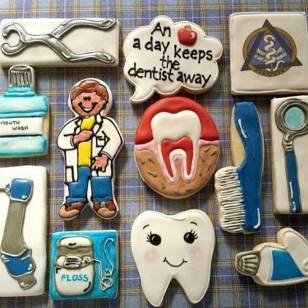 Печенье для стоматолога 45