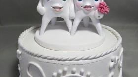 Свадебный торт стоматологов