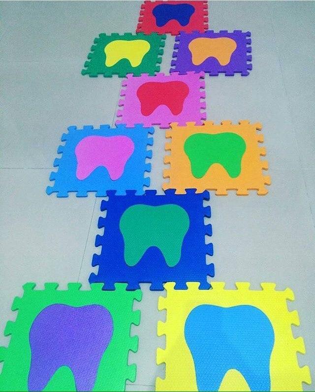 Пазл для детей стоматологов
