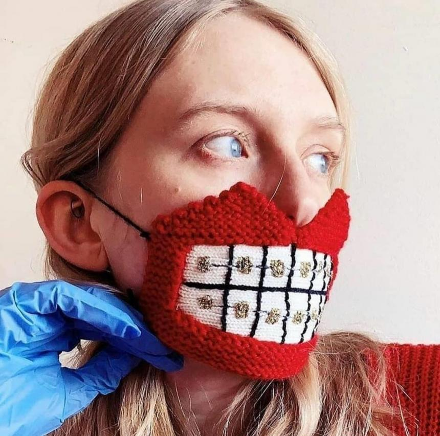 Маска ортодонтическая