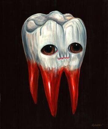 Зубастый зуб
