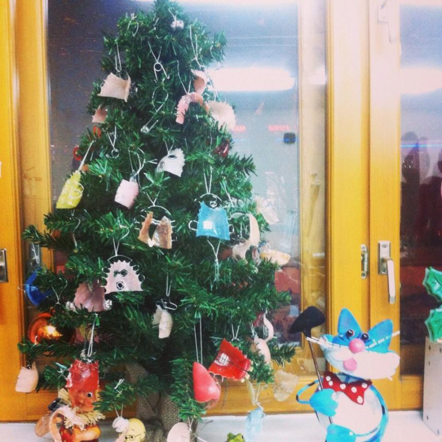 Новогодняя елка 7
