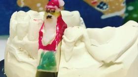 Дед Мороз и зубной слепок