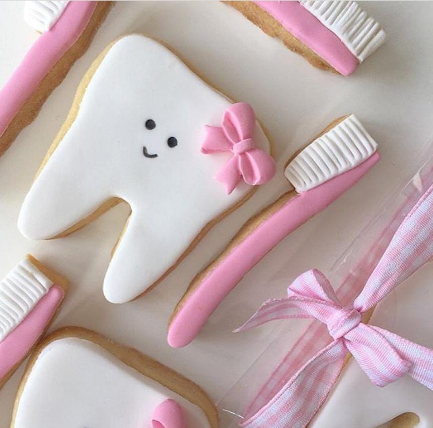 Печенье для стоматолога 25