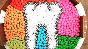 Зуб и цвета