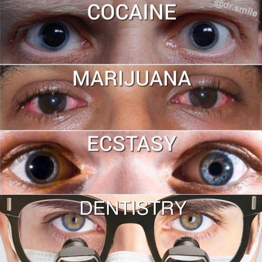 Глаза стоматолога