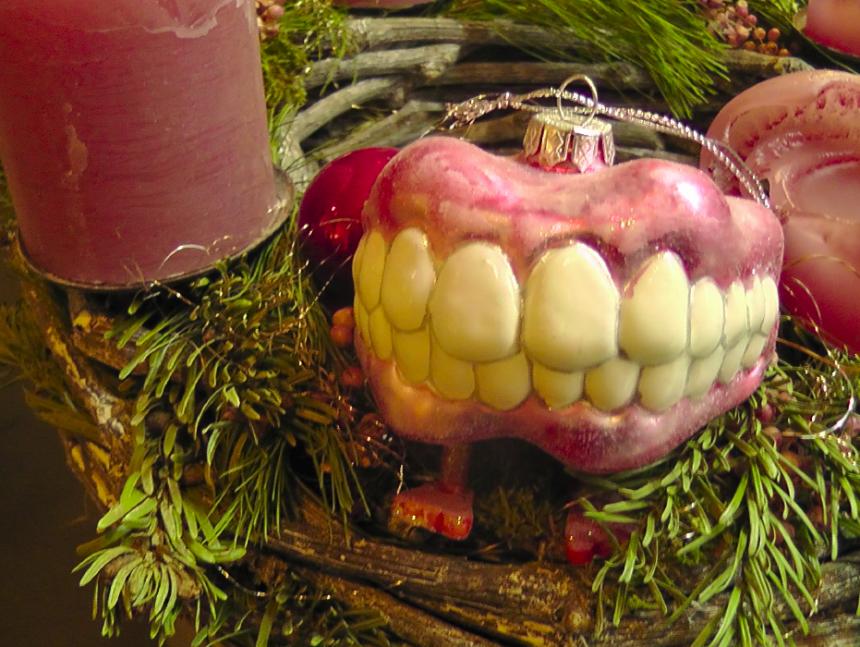 Елочная игрушка для стоматолога 4
