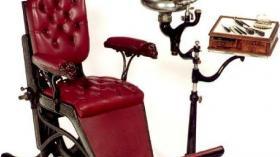 Стоматологическое кресло (19 век) 2