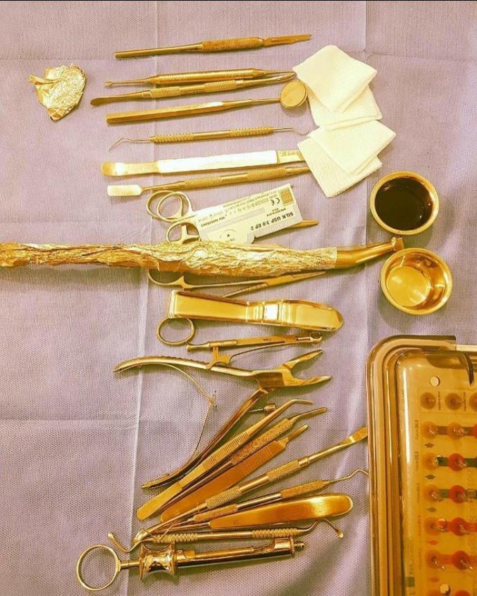 Инструменты в VIP-стоматологии