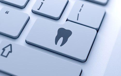 Клавиша стоматолога на клавиатуре