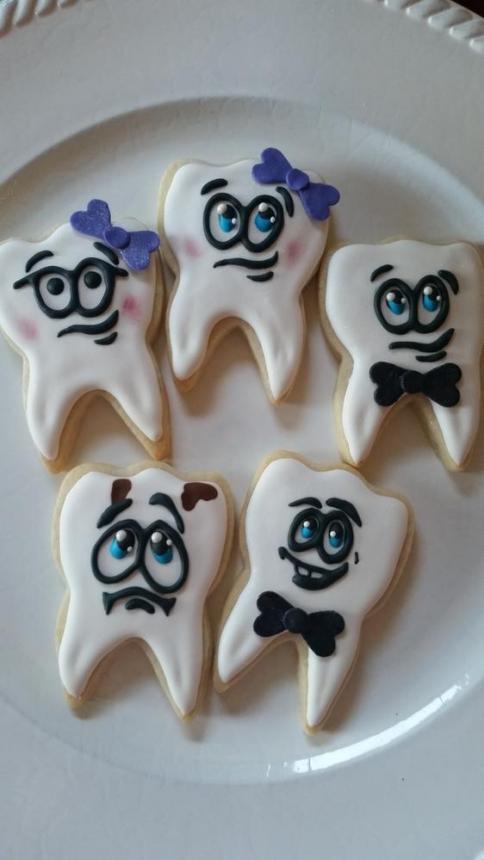 Печенье для стоматолога 37