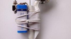 Первая электрическая зубная щетка
