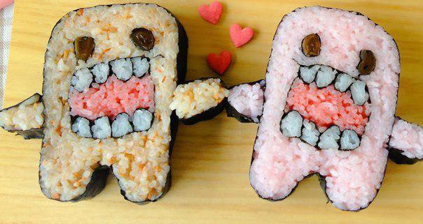 Суши-зубы