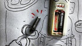 Удаление батарейки