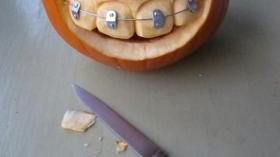 Тыква после посещения стоматолога 3